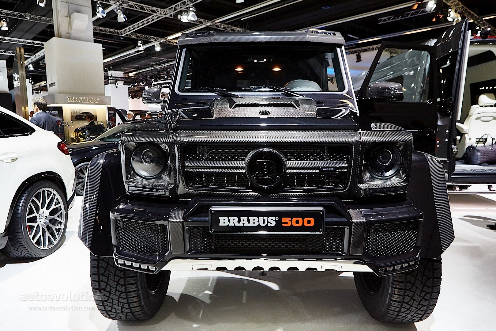 Brabus mercedes g500 4x4 and g class 850 biturbo widestar for Mercedes benz g 500
