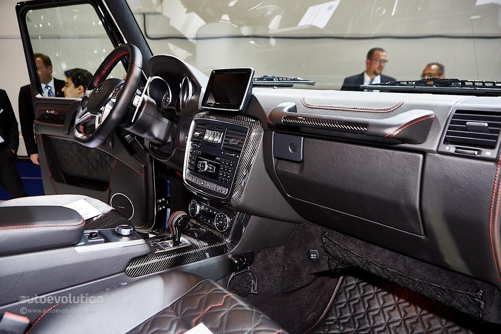 Brabus Mercedes G500 4x4 And G Class 850 Biturbo Widestar