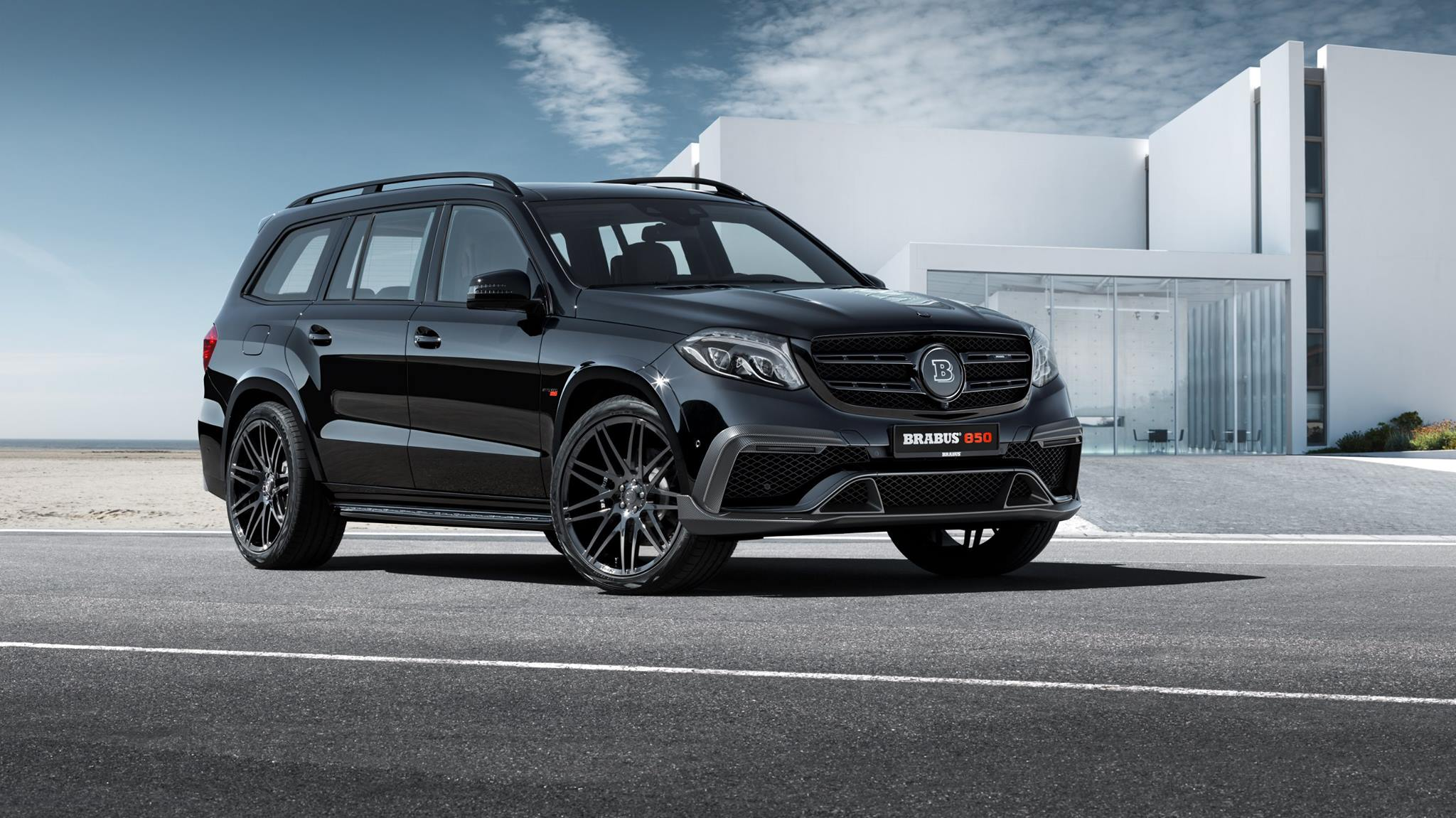 brabus mercedes gls 850 is an xl luxury guzzler autoevolution. Black Bedroom Furniture Sets. Home Design Ideas
