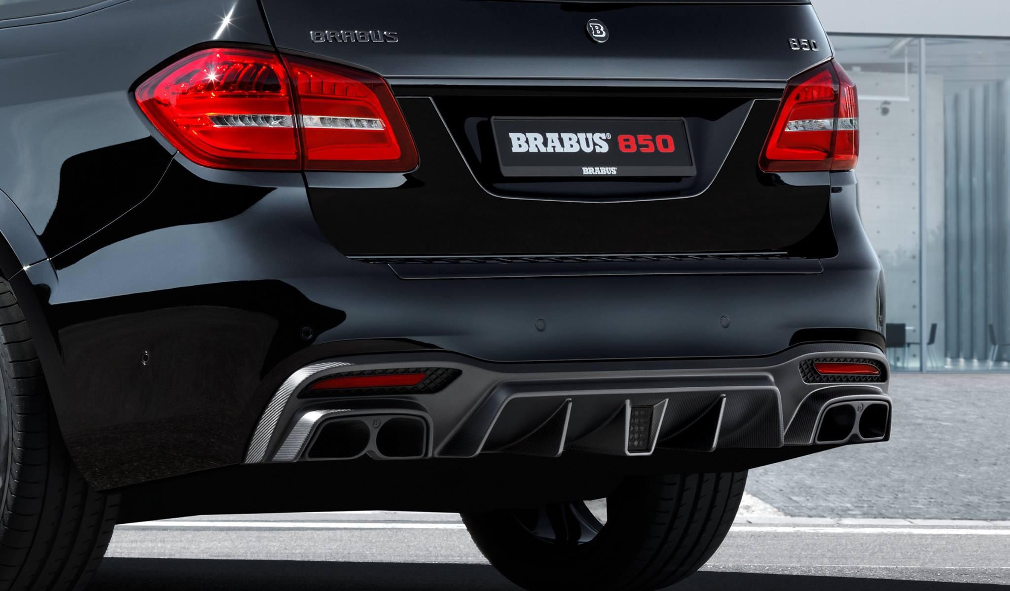 Brabus Mercedes Gls 850 Is An Xl Luxury Guzzler Autoevolution