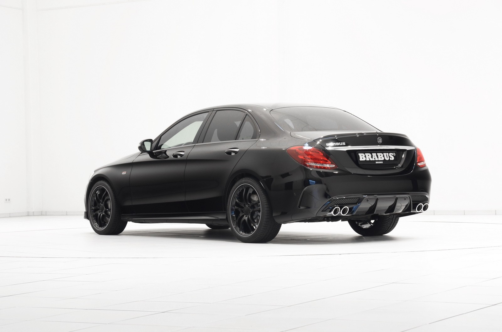 Brabus takes the mercedes benz c450 amg 4matic to 410 hp for Mercedes benz brabus amg