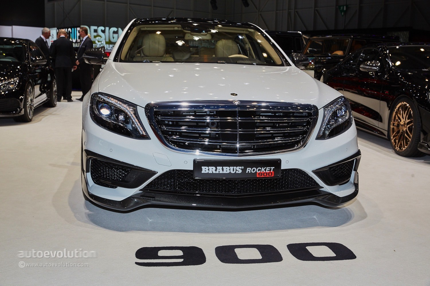 Big Country Auto >> Brabus Redefines 'Land Rockets' with 900 HP S-Class at Geneva - autoevolution