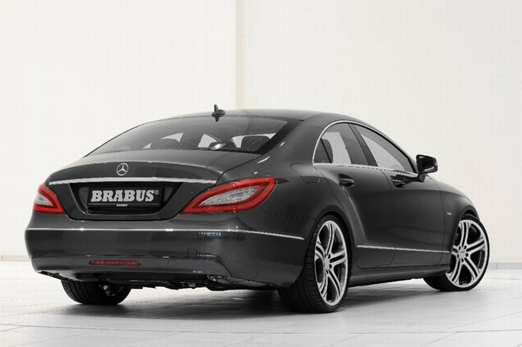 Brabus releases first images of its 2011 mercedes cls for Mercedes benz cls 2011