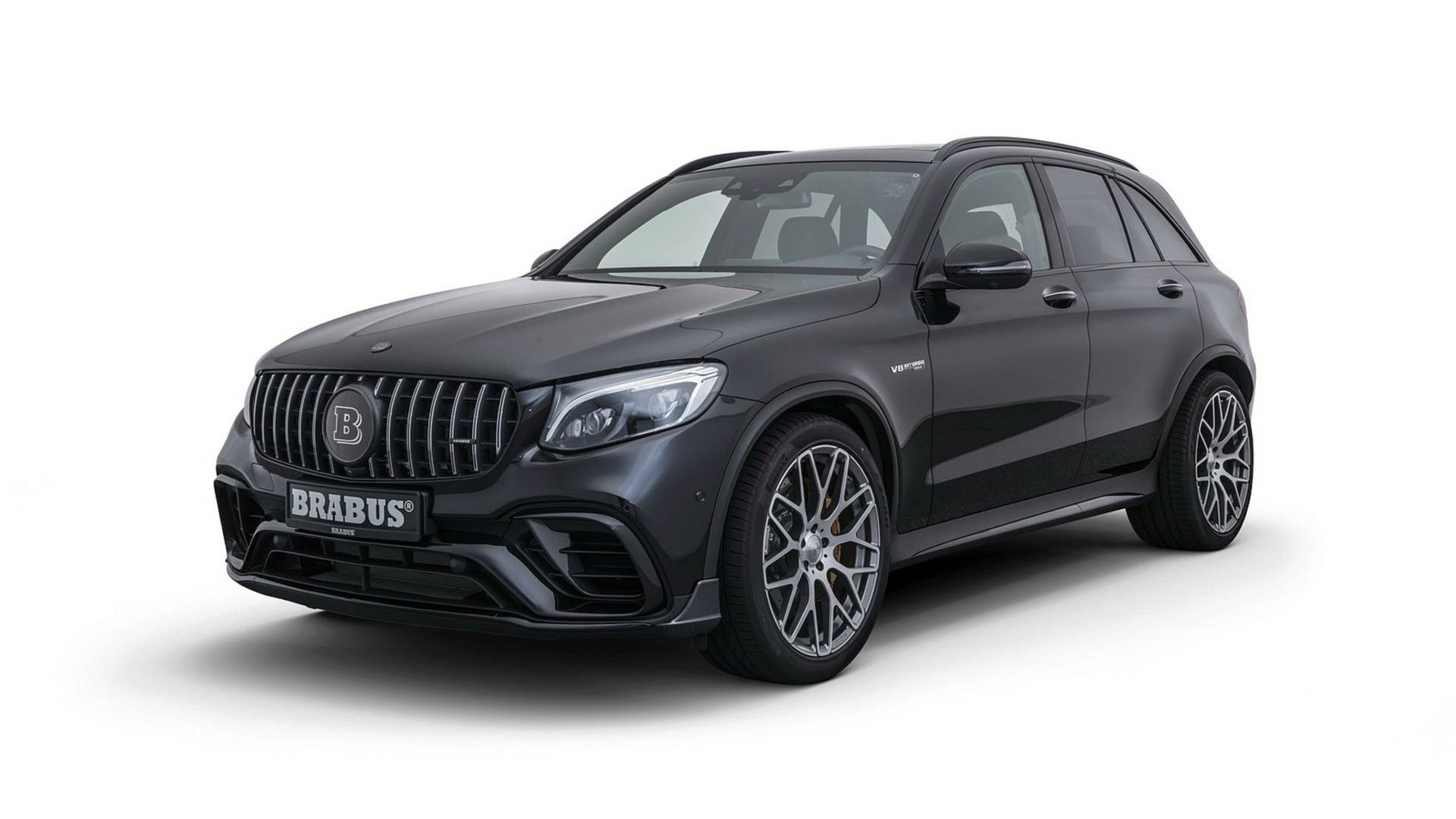 brabus reveals 600 hp mercedes amg glc 63 s autoevolution. Black Bedroom Furniture Sets. Home Design Ideas