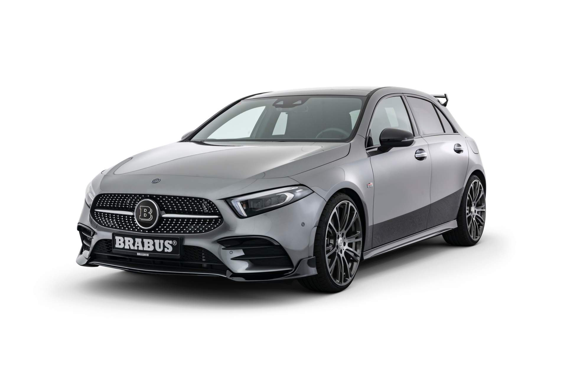 brabus reveals hot 2019 mercedes a class body kit and 270 hp power pack autoevolution. Black Bedroom Furniture Sets. Home Design Ideas