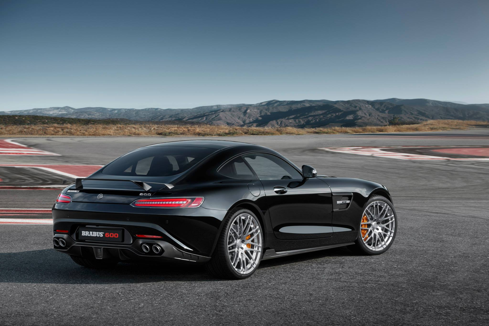 Brabus Reveals Tuned Mercedes Amg Gt S With 600 Hp Ahead Of Frankfurt