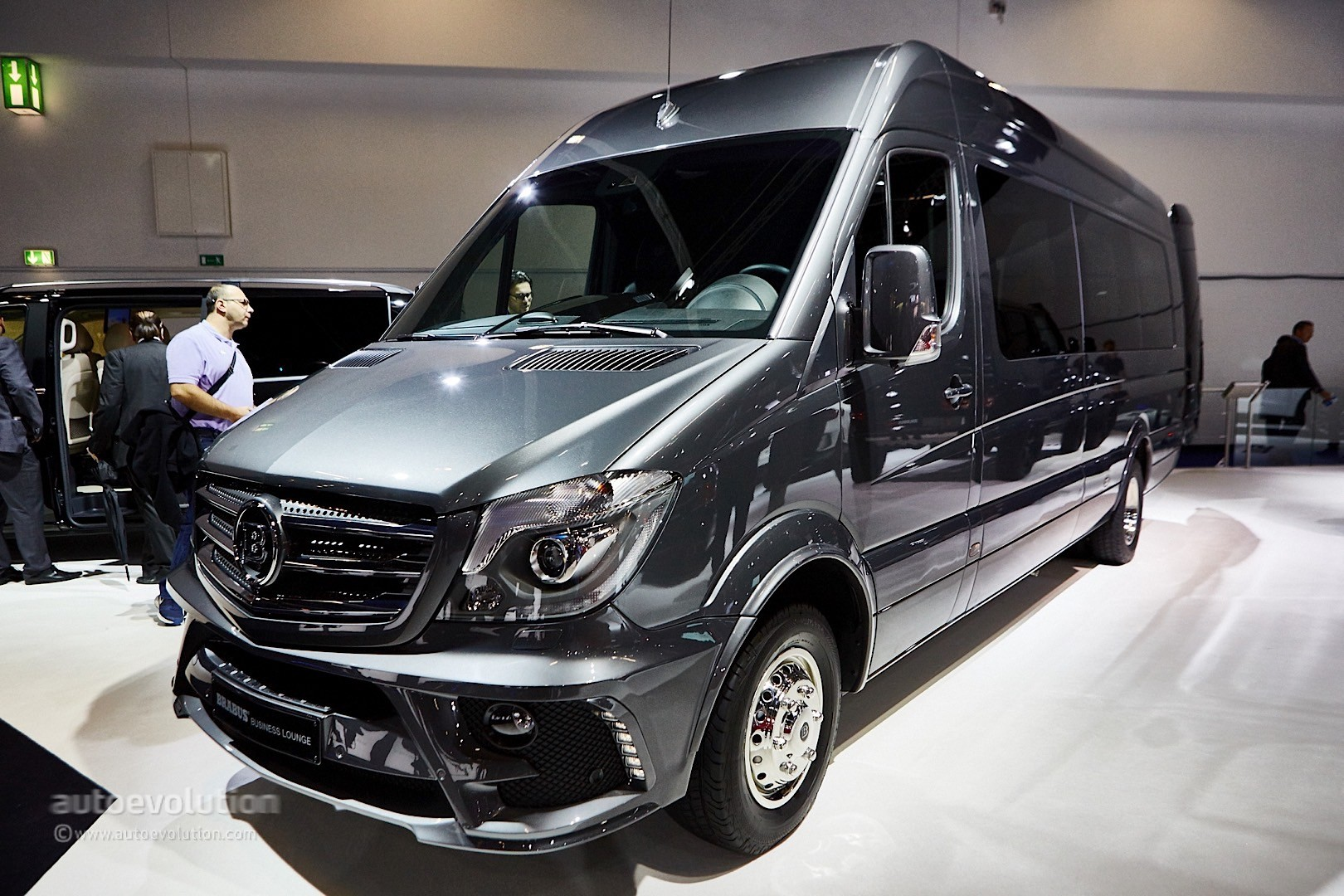 Brabus sprinter and v class fill the luxury van gap in for Mercedes benz sprinter luxury van price
