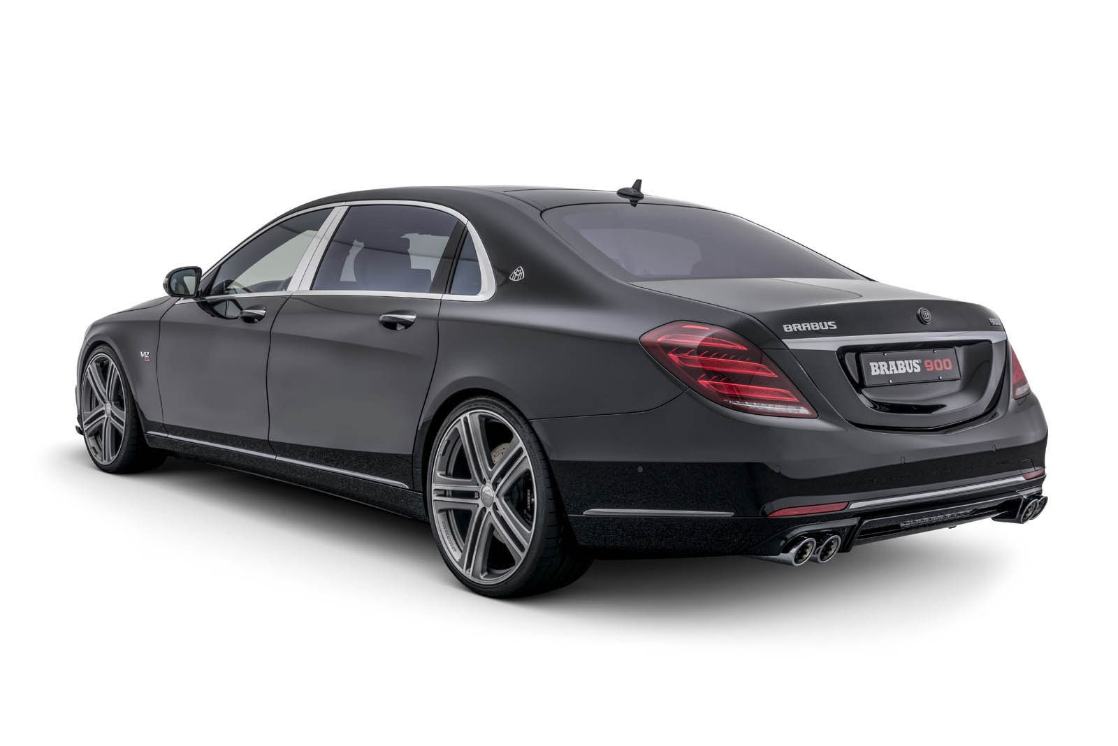 brabus' take on the mercedes-maybach s 650 is a 900 hp, 217 mph