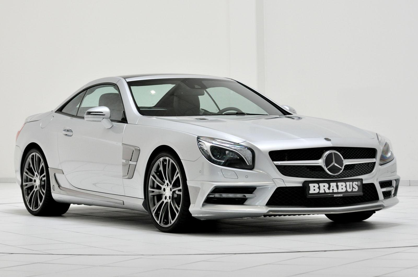 brabus tunes 2013 mercedes sl r231 autoevolution. Black Bedroom Furniture Sets. Home Design Ideas