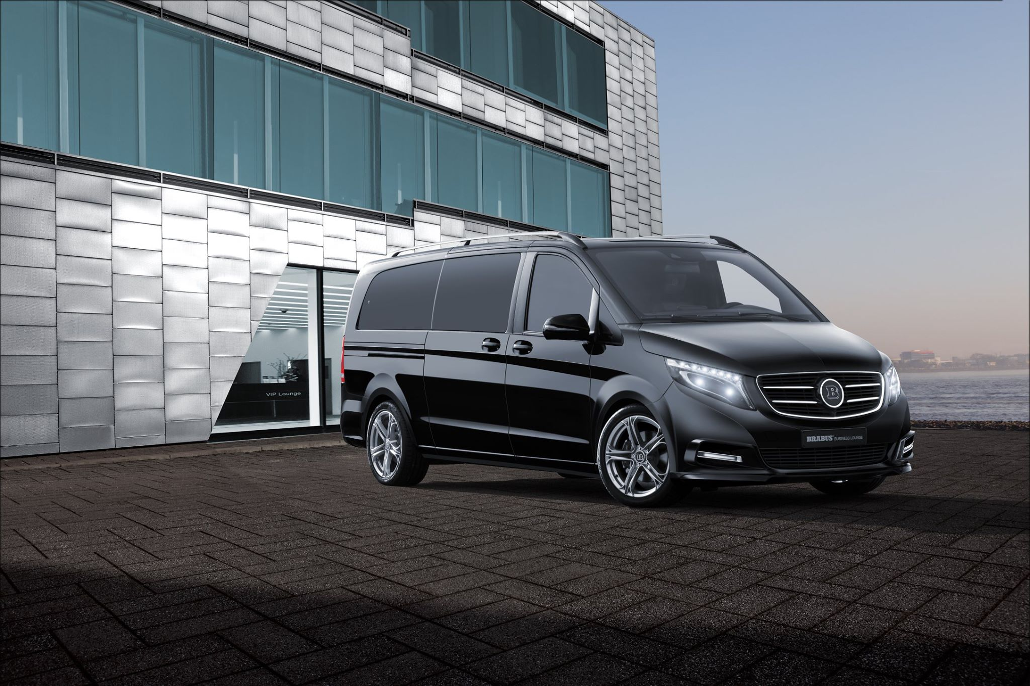 brabus tunes mercedes benz v class turns it into business. Black Bedroom Furniture Sets. Home Design Ideas