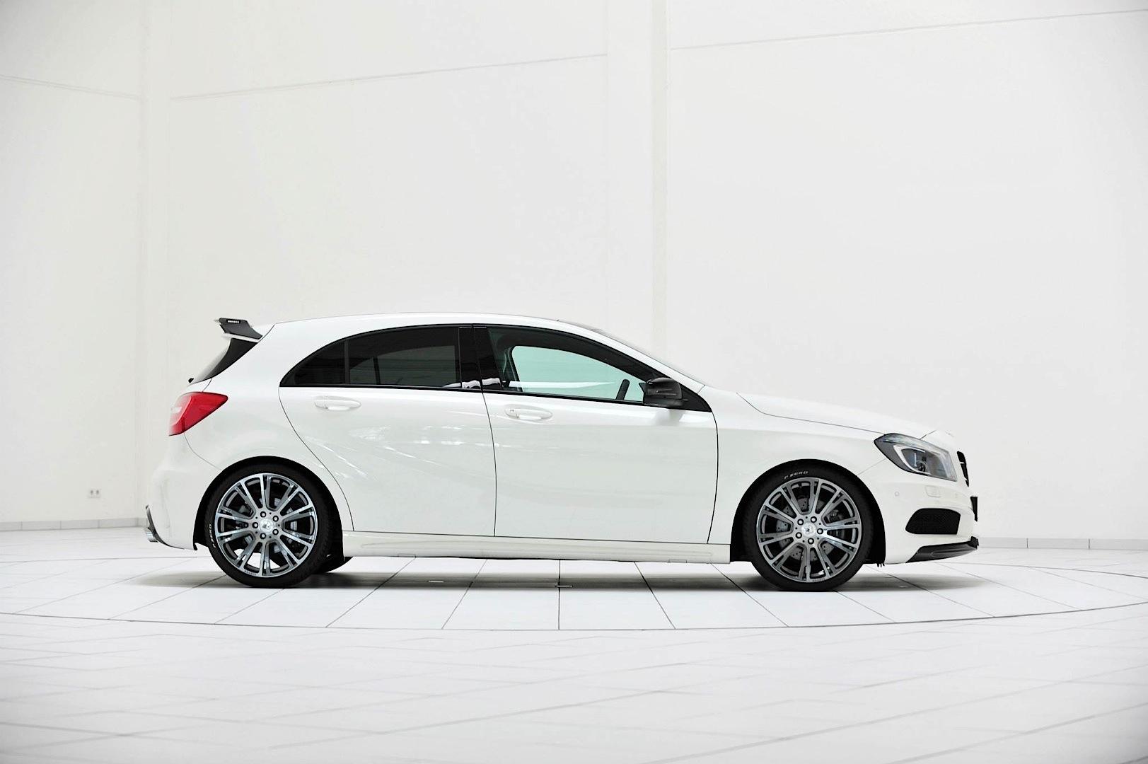 Brabus Tunes The Mercedes Benz A250 Cgi Autoevolution