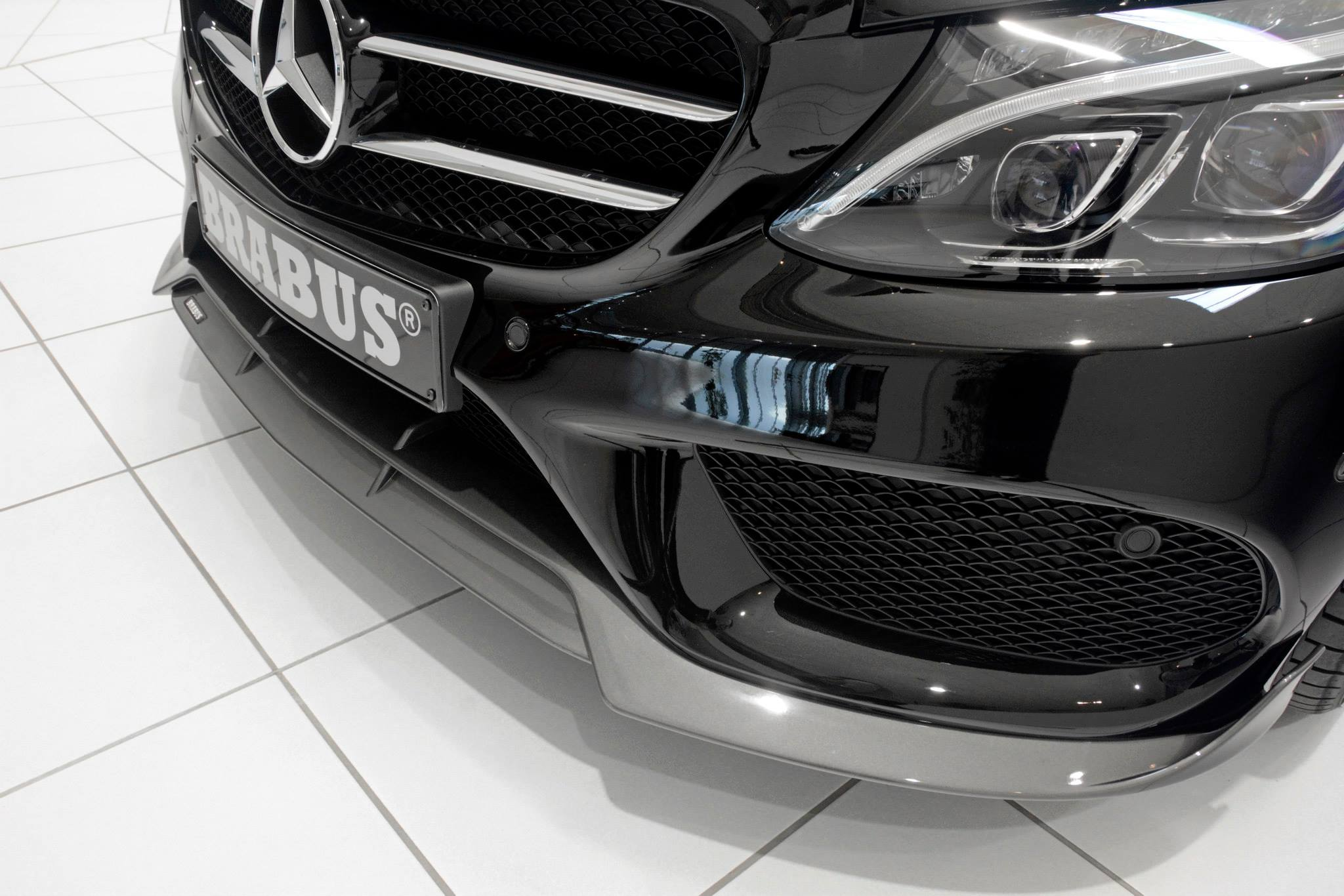 Brabus Tuning Program For W205 C Class With Amg Sports