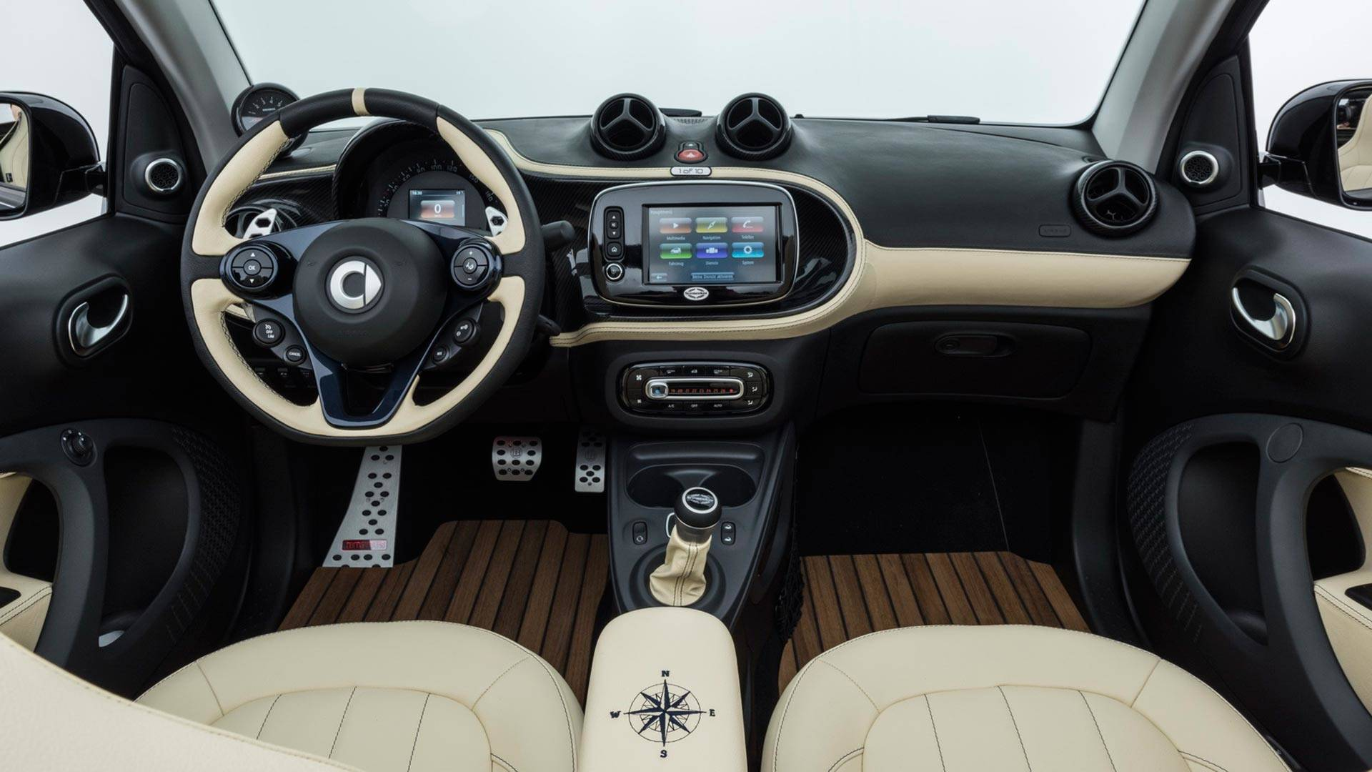 the brabus ultimate sunseeker is not your average smart fortwo autoevolution. Black Bedroom Furniture Sets. Home Design Ideas