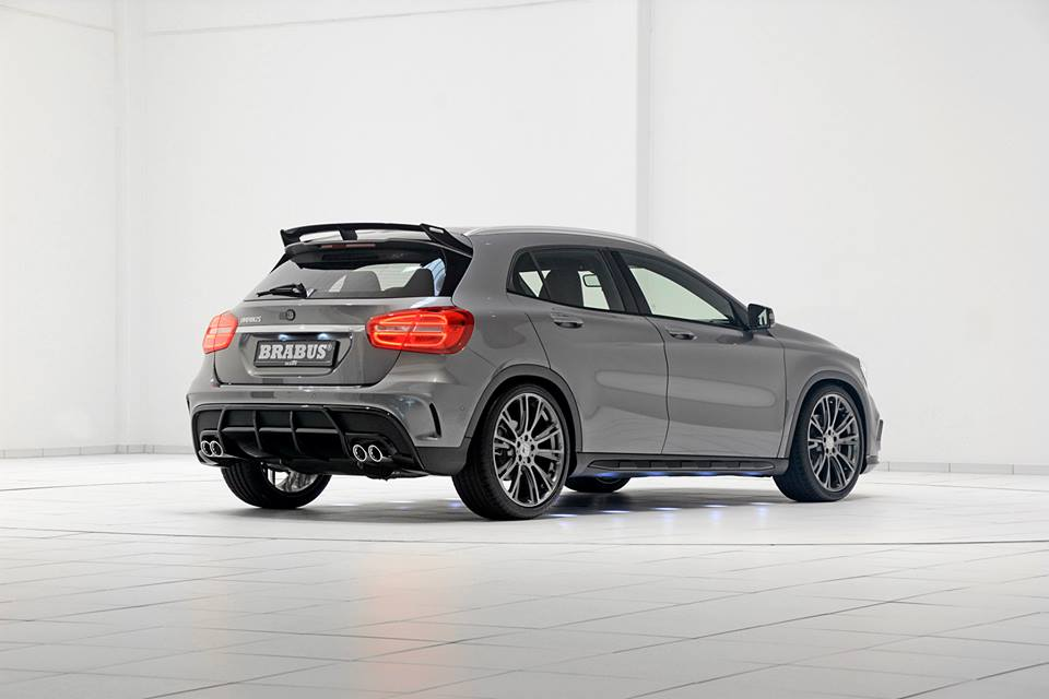Brabus Unveils Its Special Treatment For The Mercedes Benz Gla Class