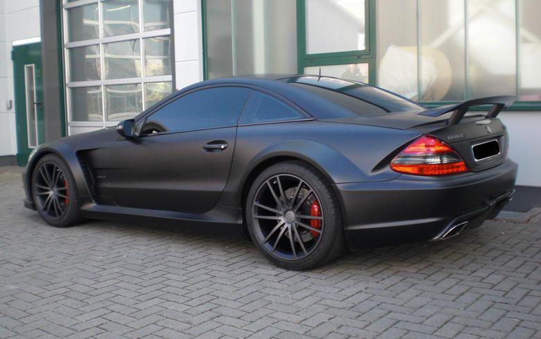 Brabus Vanish: One-off 800 hp SL65 AMG Black Series - autoevolution