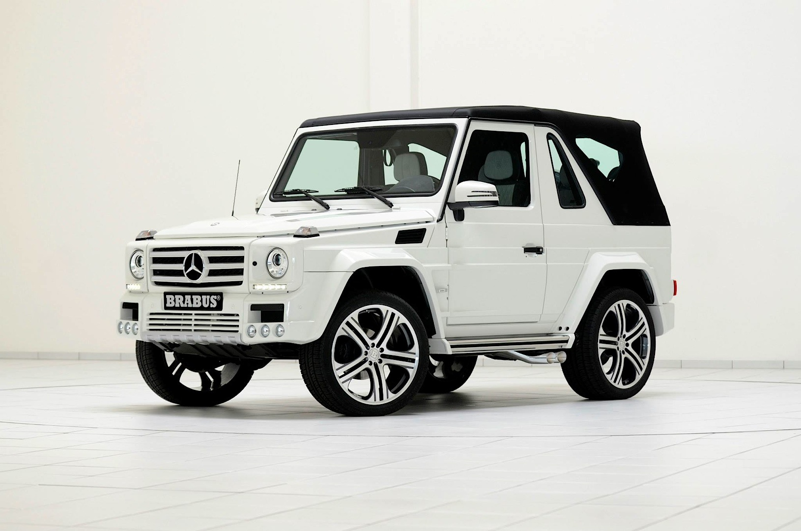 Brabus Widestar Package For G500 Cabrio With Unreal