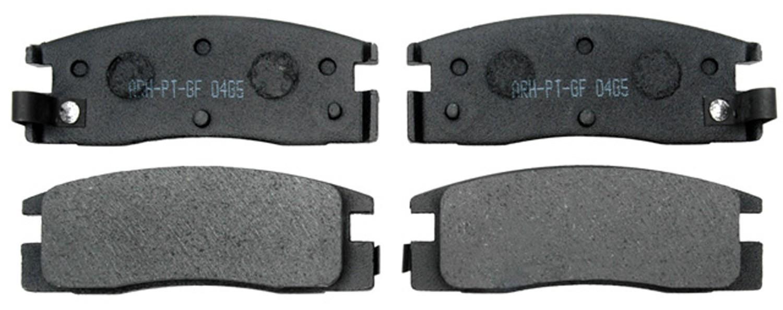 Brake Pad Material Types : Overview brake pads materials organic ceramic semi