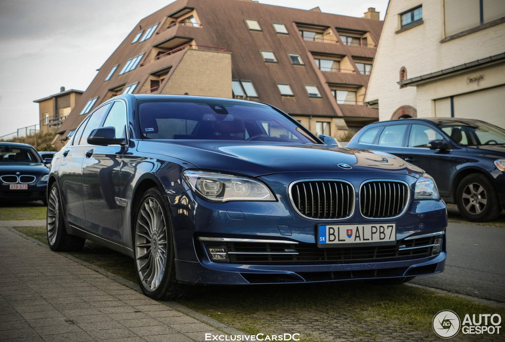 brand new bmw alpina b7 spotted in belgium luxury at its. Black Bedroom Furniture Sets. Home Design Ideas