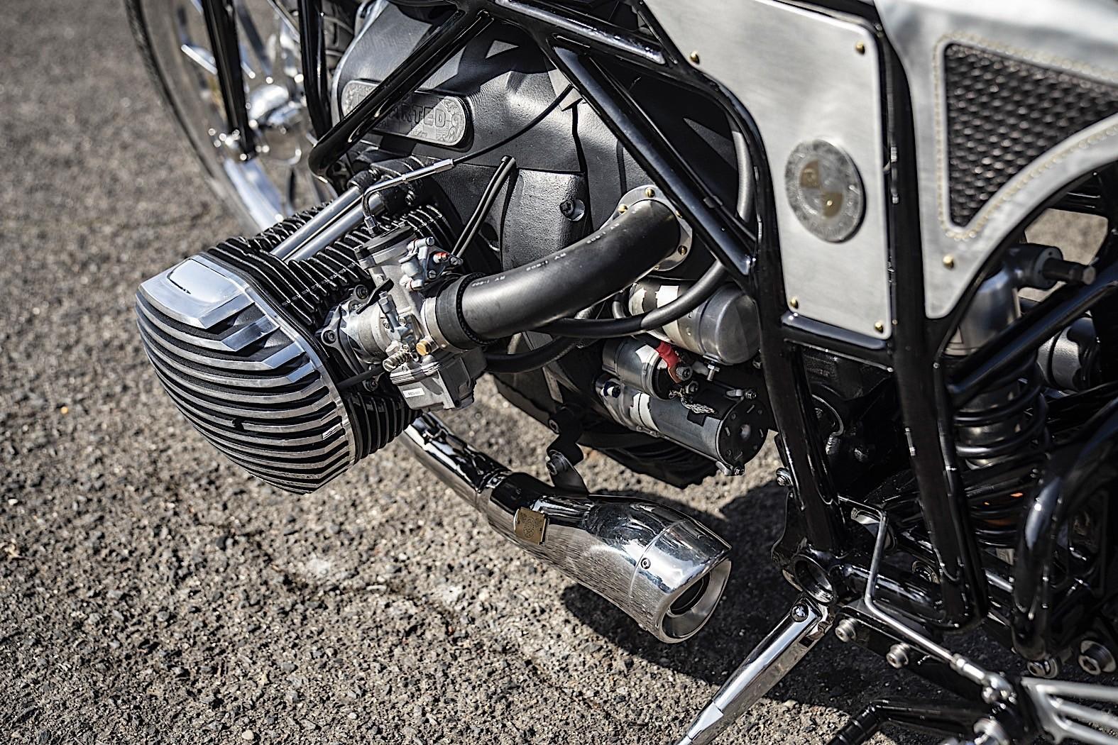 Brand New BMW Motorrad Boxer Engine Shown on Custom Works