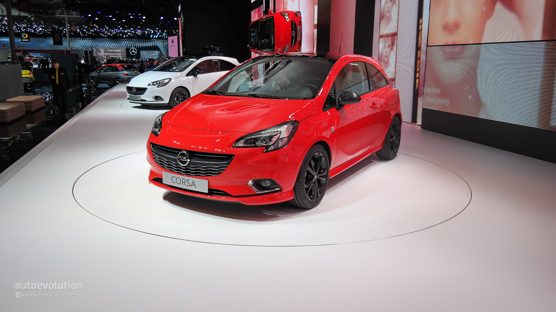 Brand New Opel Corsa Bows At Paris Motor Show 2014 Live Photos