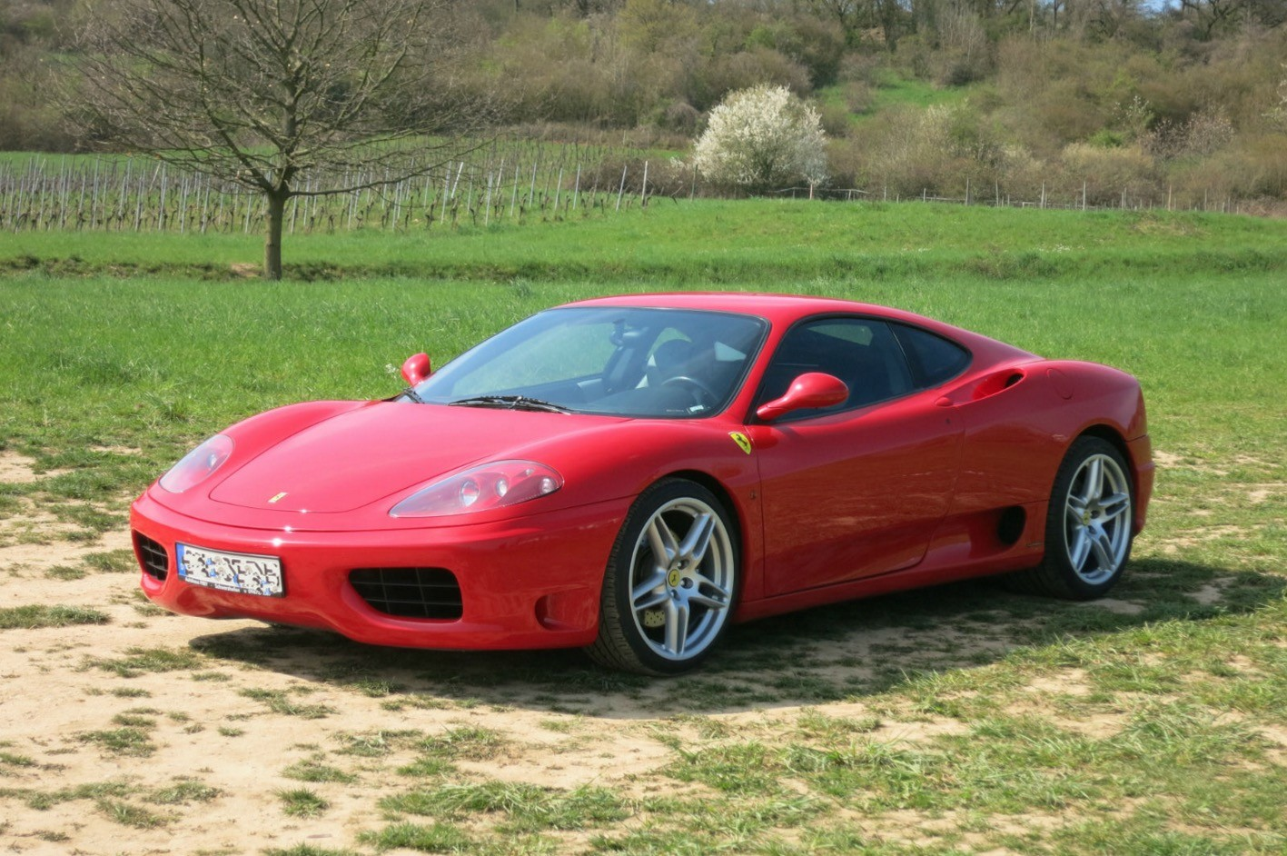 Ferrari 360 Modena F1 Once Owned By Football Player