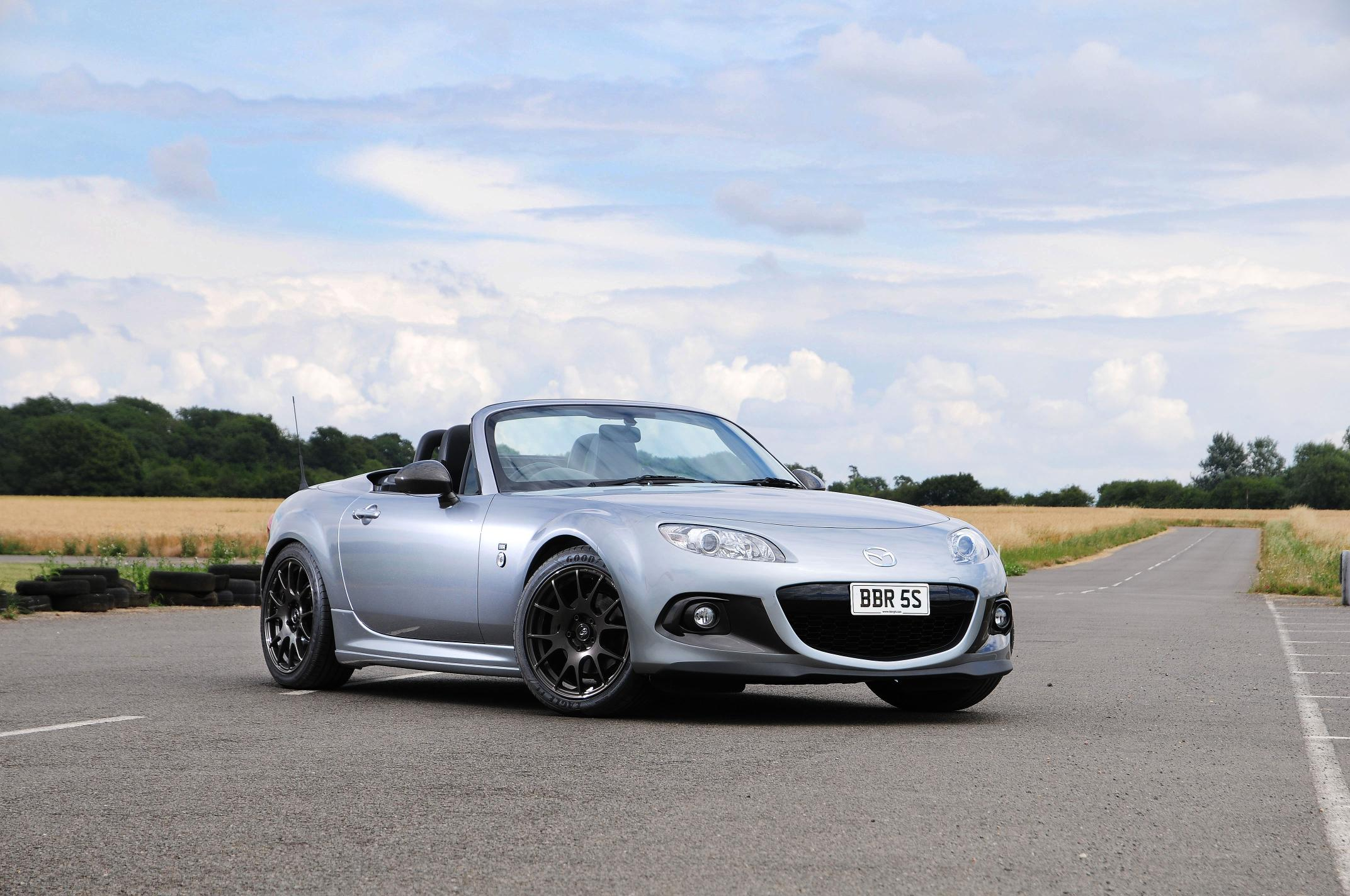 bbr super 200 mazda mx 5 tuning package detailed priced at 2 195 autoevolution. Black Bedroom Furniture Sets. Home Design Ideas