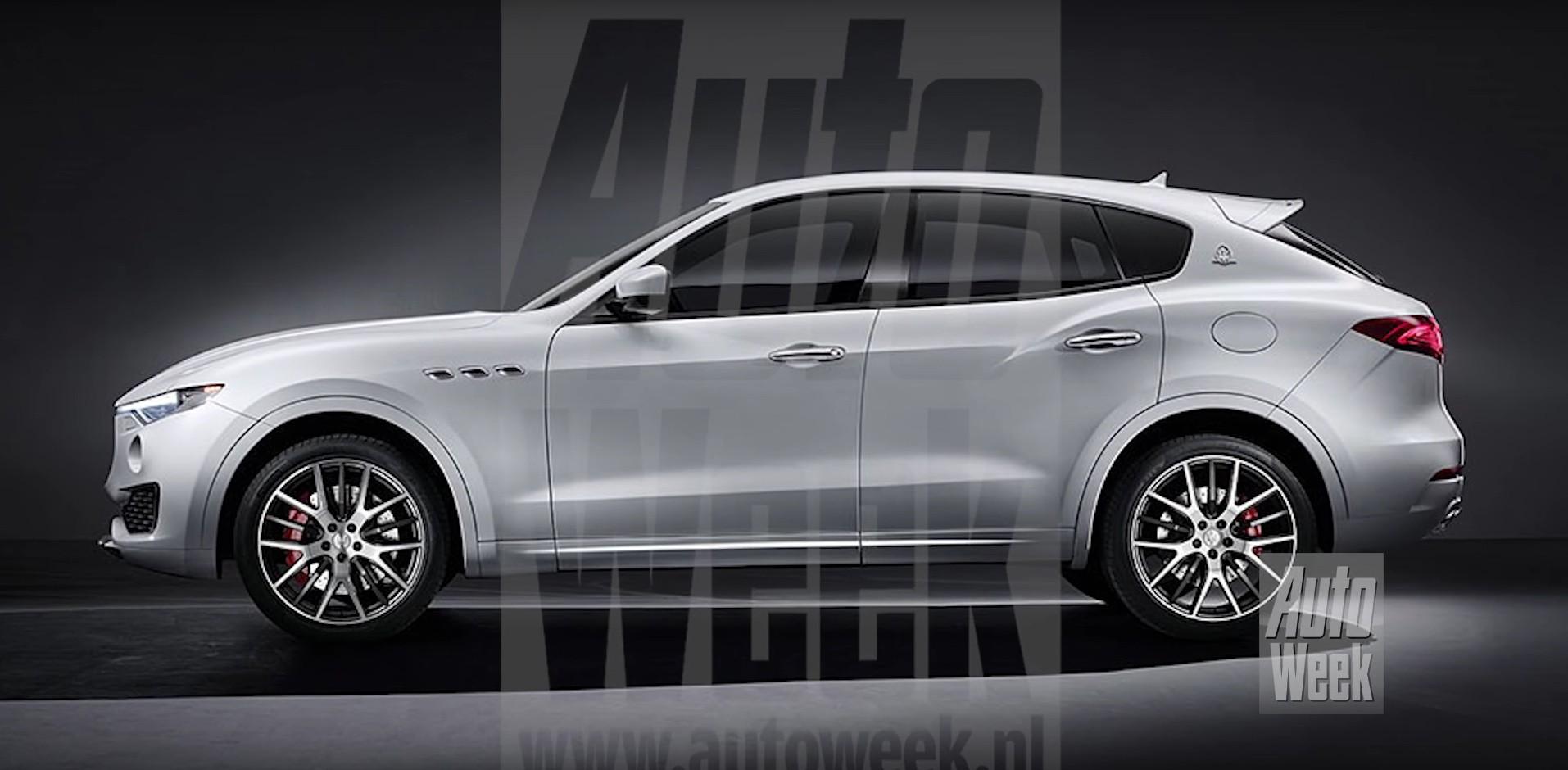 Maserati Ghibli Price >> Breaking: 2017 Maserati Levante SUV Leaks Early - autoevolution