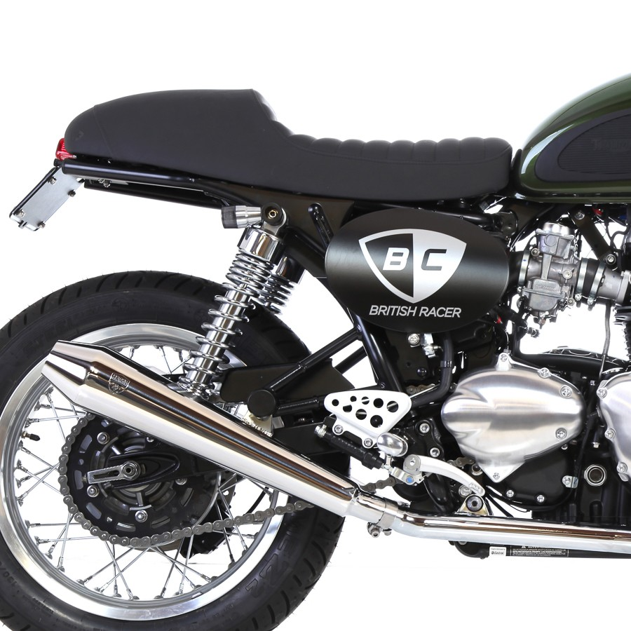 British Customs Surfaces Cafe Racer Seats For Modern
