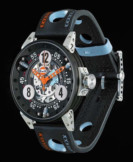 BRM Unveils New Gulf Racing Watch Collection: Knocks and ...