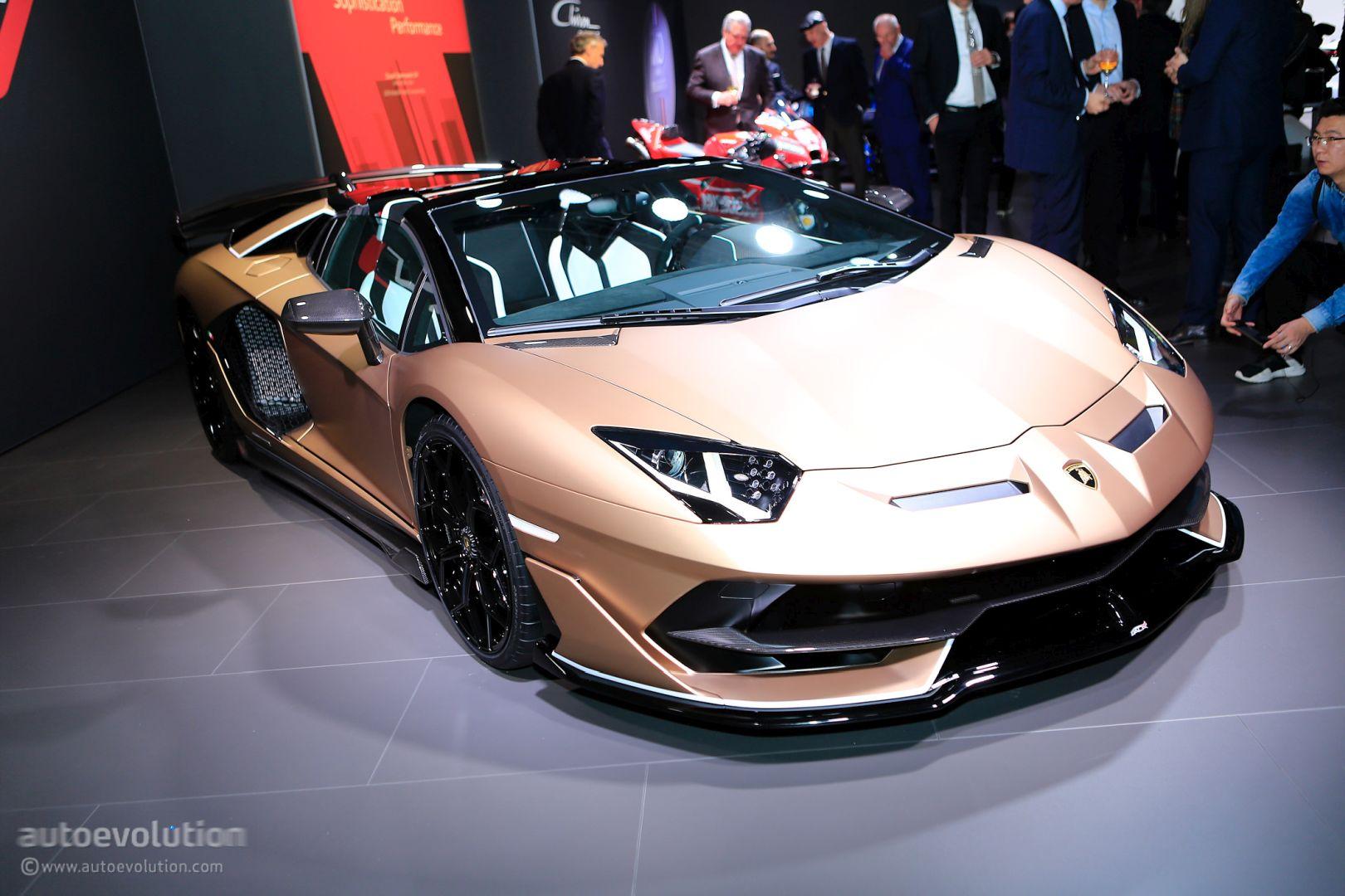 Bronzo Zenas Lamborghini Aventador SVJ Roadster Shines in ...
