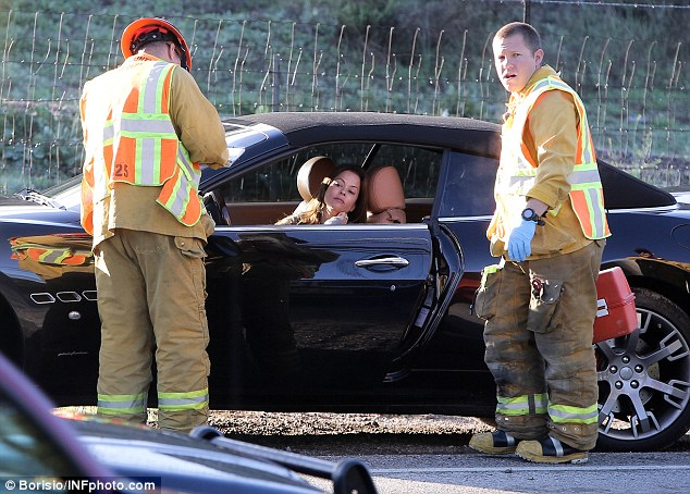 Photo of Brooke Burns  - car