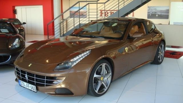 Brown Ferrari FF For Sale In Germany
