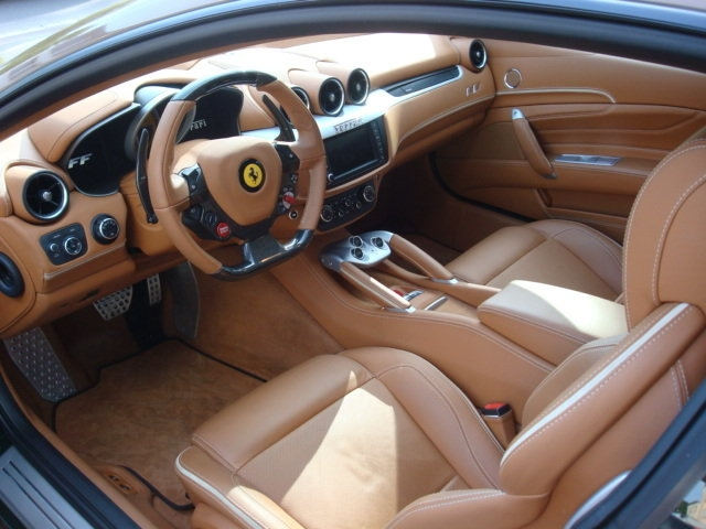 Brown Ferrari FF for Sale in Germany - autoevolution