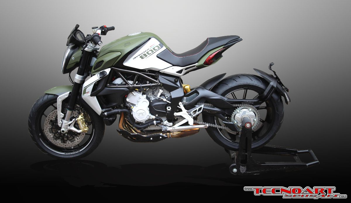 Brutal Mv Agusta Dragster 800 Special Edition By Tecnoart