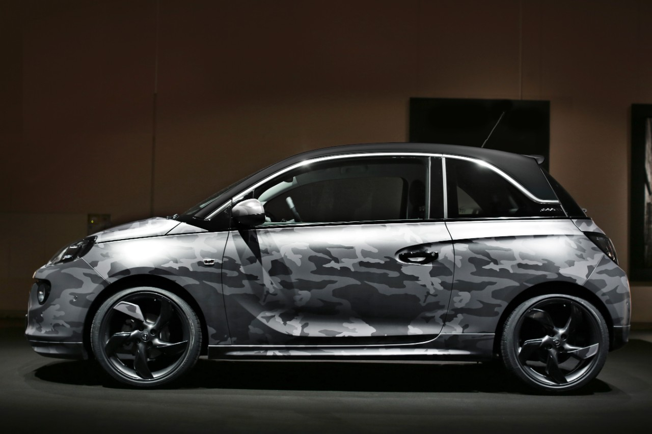 Bryan adams designed opel adam cars to be auctioned for for How to buy a car from charity motors