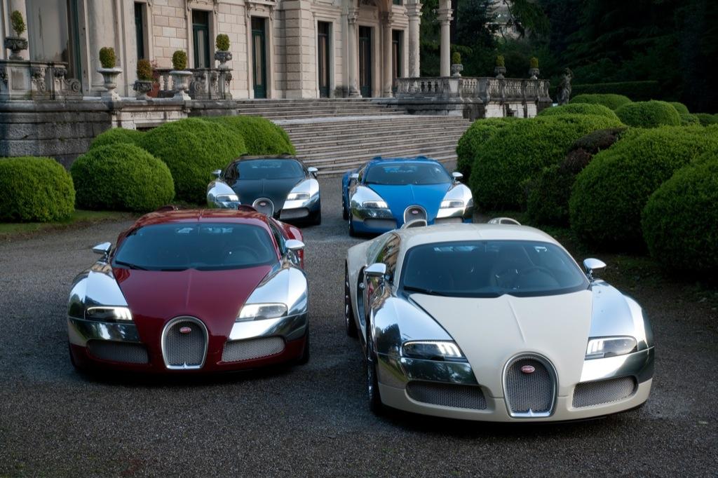 Bugatti S 100th Celebration At Concorso D Eleganza