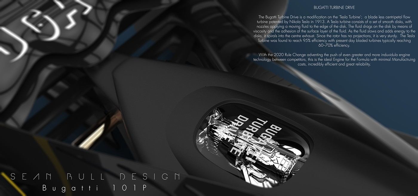 2020 Bugatti Formula 1 Entry Imagined By British Designer