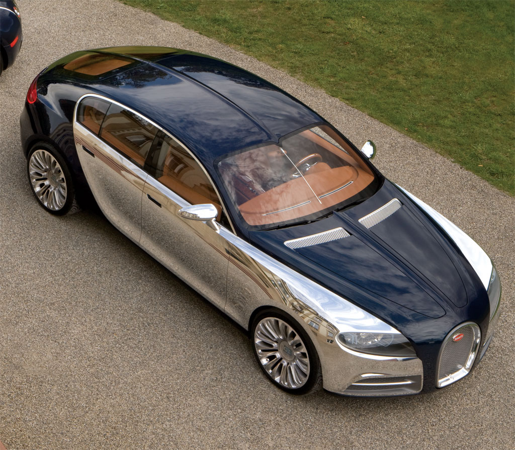 Bugatti Chiron Four-Door Rendered As The Sedan Bugatti CEO