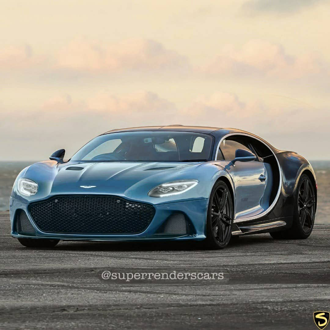 Bugatti Chiron Gets Aston Martin And Bentley Face Swaps