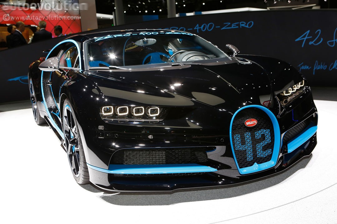 Bugatti Chiron Special Edition Is The Only Time 42 Seconds