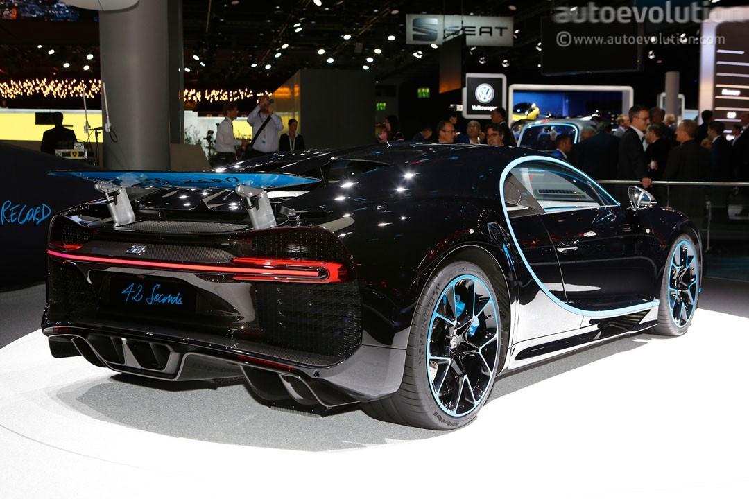 bugatti chiron black edition - photo #8