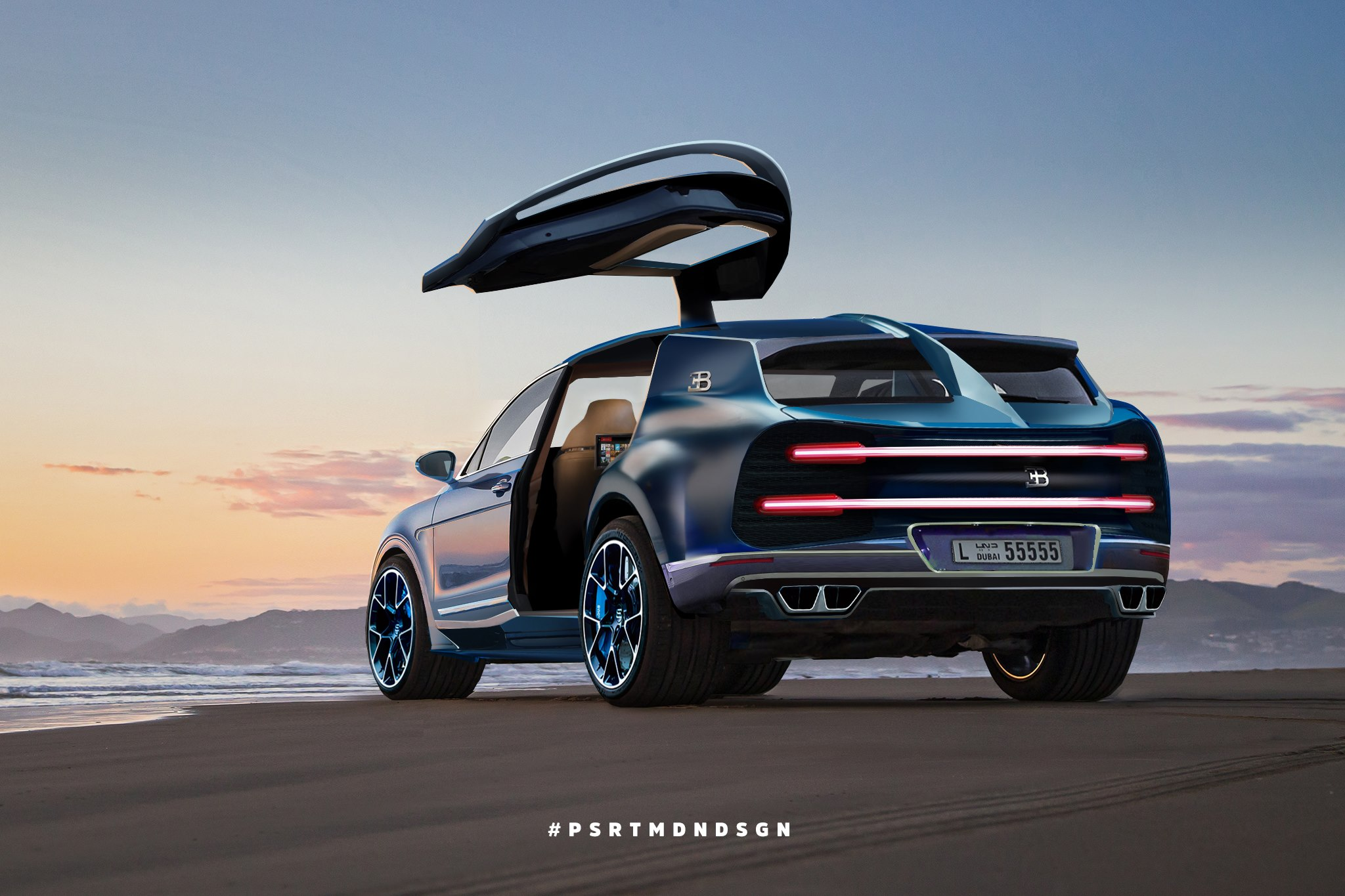 Bugatti Megalon Rendering Is The Most Expensive Suv You Ve Never