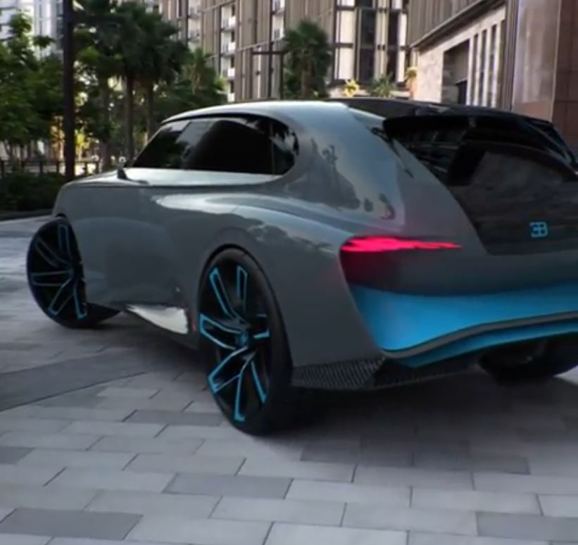 Make Your Own Car >> Bugatti SUV Video Makes Everything Seem Real, Is Clearly ...