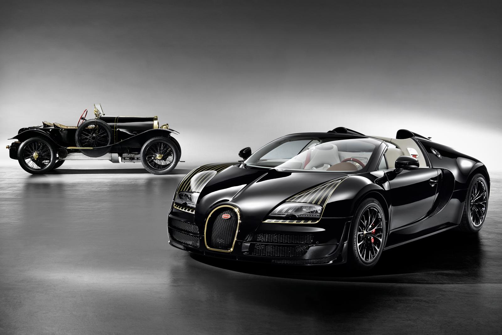 """Bugatti Veyron """"Black Bess"""" Mixes Gold, Aviation and ..."""