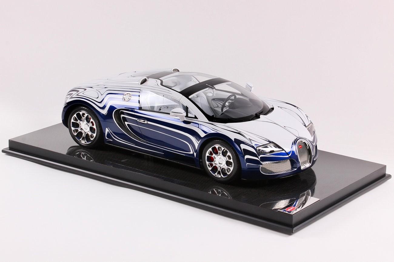 Bugatti Veyron Grand Sport L Or Blanc Scale Model Is Beautiful
