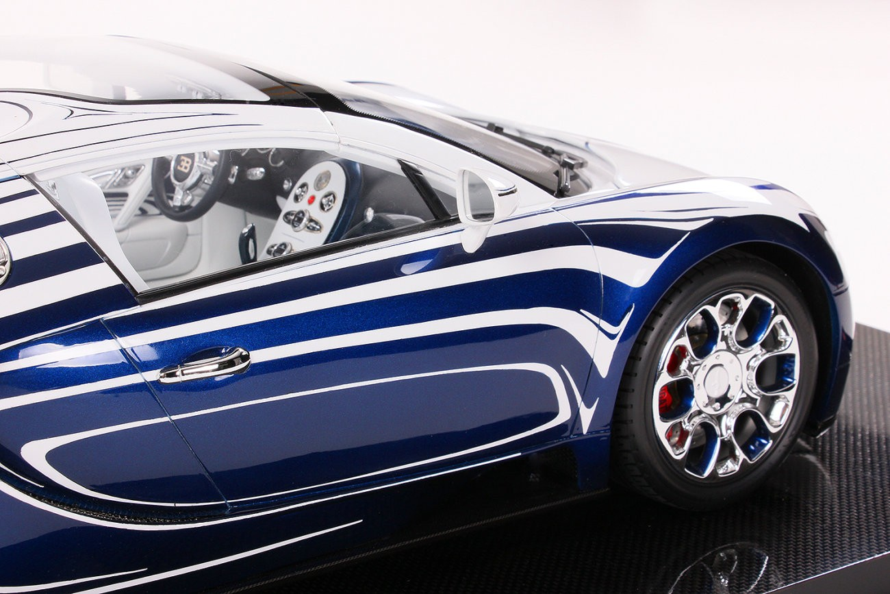 bugatti veyron grand sport l or blanc scale model is. Black Bedroom Furniture Sets. Home Design Ideas