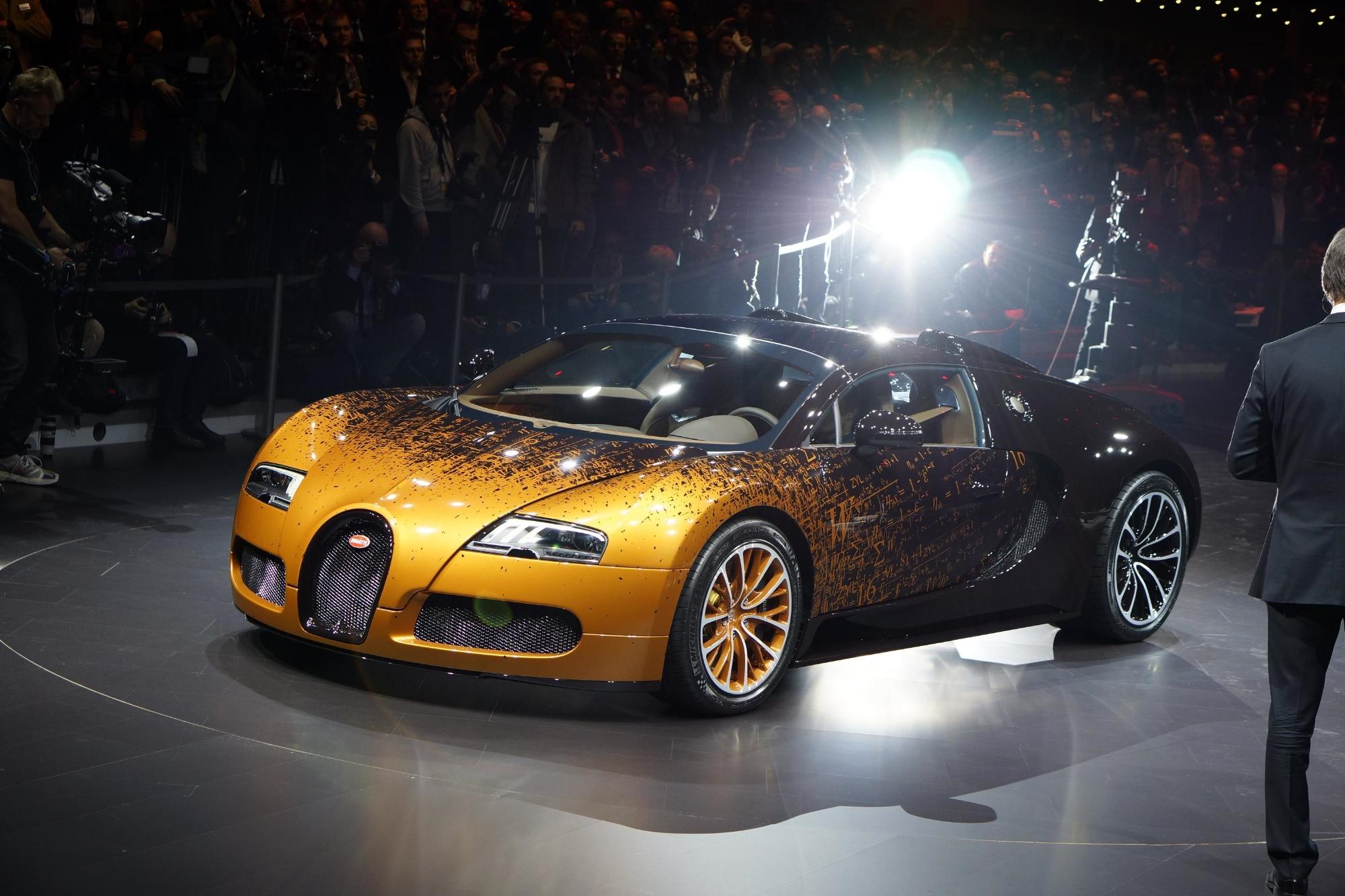 Bmw Of Little Rock >> Bugatti Veyron Grand Sport Venet Is a Rusty Piece of Geneva Art [Live Photos] - autoevolution