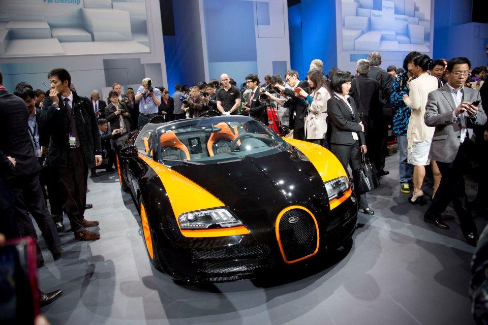 Bugatti Veyron Grand Sport Vitesse Wrc Introduced In Shanghai