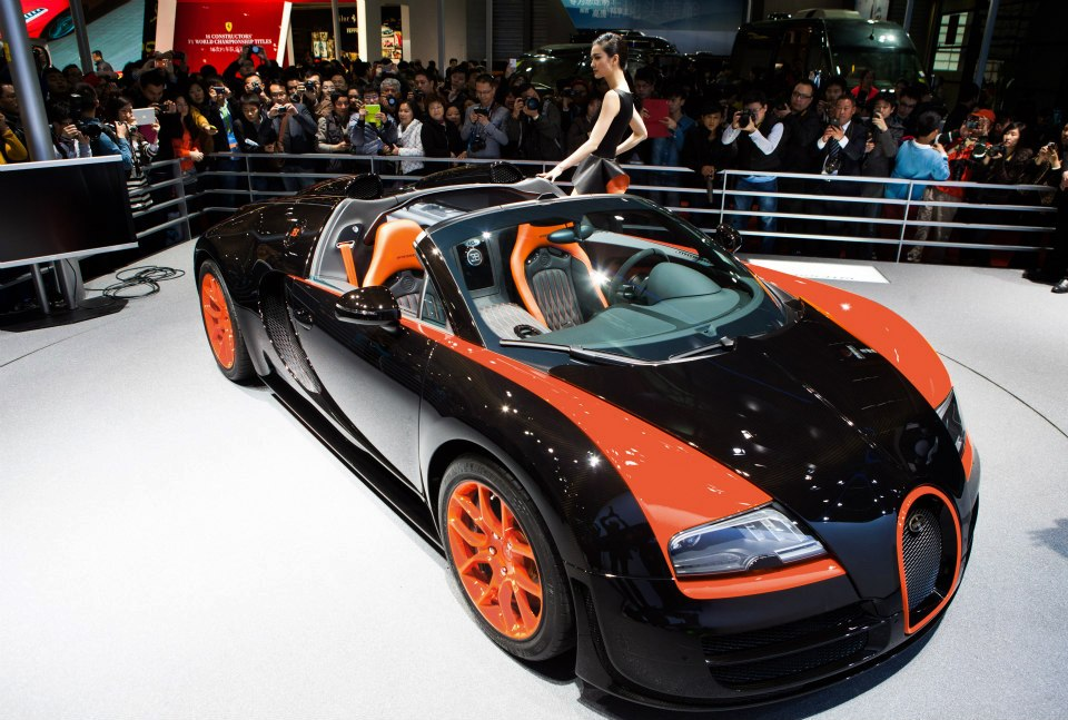 Bugatti Veyron Grand Sport Vitesse WRC
