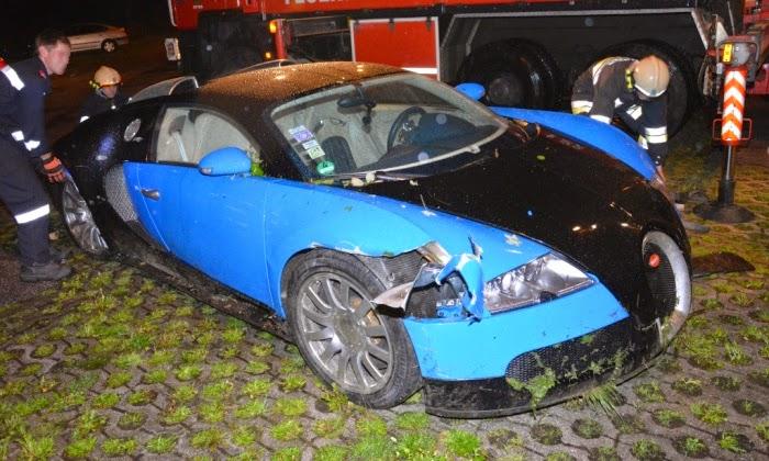 Bugatti Veyron Has A Nasty Crash In Austria Autoevolution